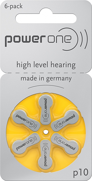 מודרני סוללות למכשירי שמיעה - HearPower RM-77